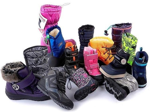 как правильно подобрать обувь ребенку на зиму