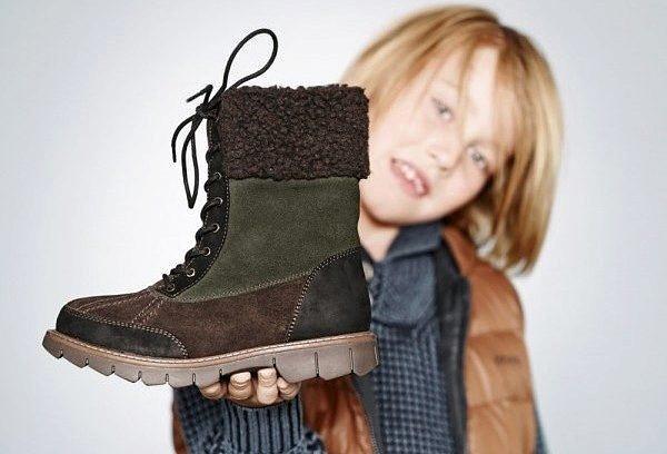 какая обувь самая теплая для зимы ребенку