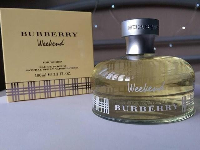 week end burberry parfums