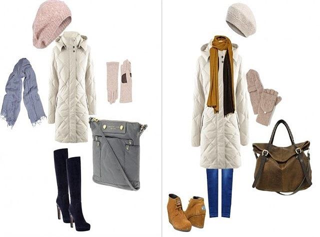 сумка под пуховик: варианты для модной девушки